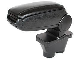 Peugeot 208 2012- подлокотник комплект черная искусственная кожа + монтажный комплект, арт. DA-20719