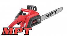 """MPT  Пила цепная электрическая 2000 Вт, 405 мм/16"""", 12м/с, 3600 об/мин, Арт.: MECS1601"""