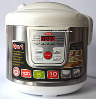 Мультиварка ROTEX RMC508-W (5 л, 10 программ+керамическая чаша), фото 1