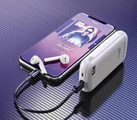 Беспроводные наушники + повербанк MEDIA-TECH 2in1 R-PHONES POWER MT3598, фото 1