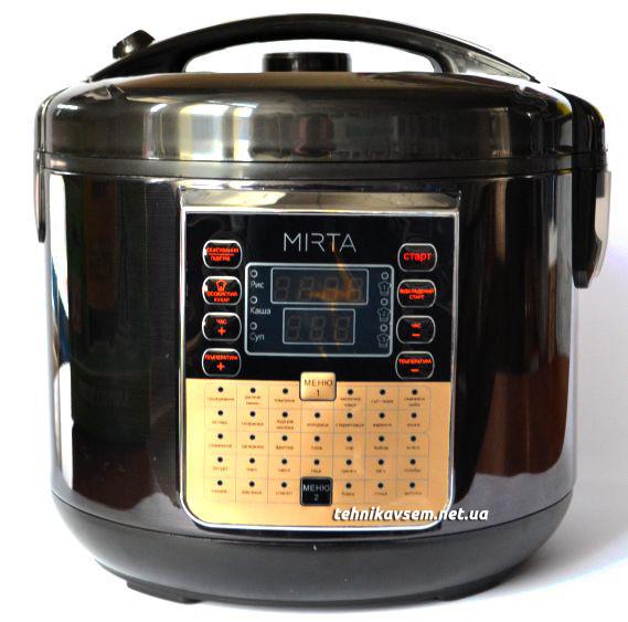 Мультиварка Mirta MC 2211B(5л, 39 программ)