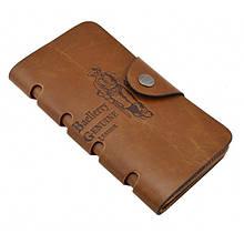 Мужской кошелек клатч портмоне барсетка Baellerry COK 10 business