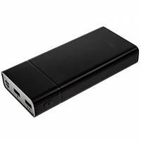 Powerbank WALKER WB-520 20000mAh 2USB/2.1A/2.1A Разъем Type-C/micro black