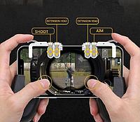 Триггер двойной T-004 с геймпадом Union PUBG Egg для мобильного телефона в подарок