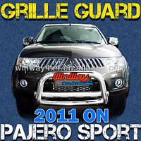 Дуга защитная передняя Mitsubishi Pajero Sport 2009-2013