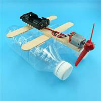 Човен з пляшок, конструктор дитячий - саморобка