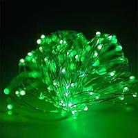 Гирлянда проволка зеленая