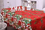 Скатертина Новорічна 120-150 «Christmas tree», фото 4