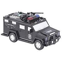 Электронная копилка-сейф с кодовым замком и отпечатком Hummer EL-510-7