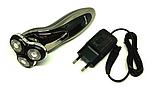 Профессиональная беспроводная мощная аккумуляторная электробритва Gemei GM 7719, фото 2