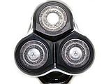 Профессиональная беспроводная мощная аккумуляторная электробритва Gemei GM 7719, фото 5