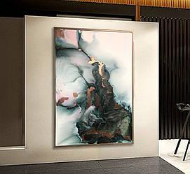 Картина с жидким акрилом