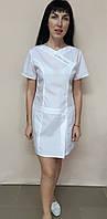 Платье женское медицинское  Медикал хлопок короткий рукав