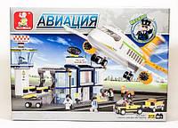 Конструктор Sluban серия Авиация M38-B0367 (Международный аэропорт)