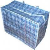 Хозяйственная сумка баул из полипропилена клетка №2 (Клетка)