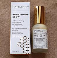 Ночная сыворотка для лица с кислотами Farmacy - Honeymoon Glow AHA Resurfacing Night Serum
