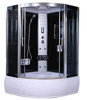 Гидромассажный бокс AquaStream Comfort 130 HB с гидромассажем в поддоне, 1300х1300х2170 мм