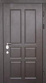 Наружные входные двери Редфорт (Redfort) Домино на улицу. Замок Мотура (Mottura)
