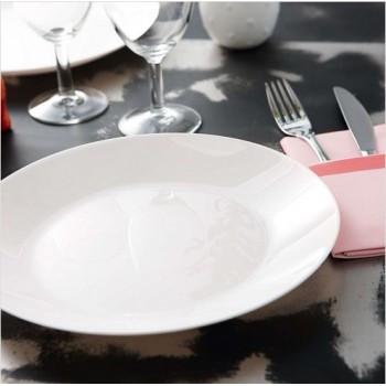 Тарелка белая десертная Zelie 180 мм L4120