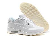 Кроссовки мужские Nike Air Max 90 VT Tweed (найк аир макс 90, оригинал) белые