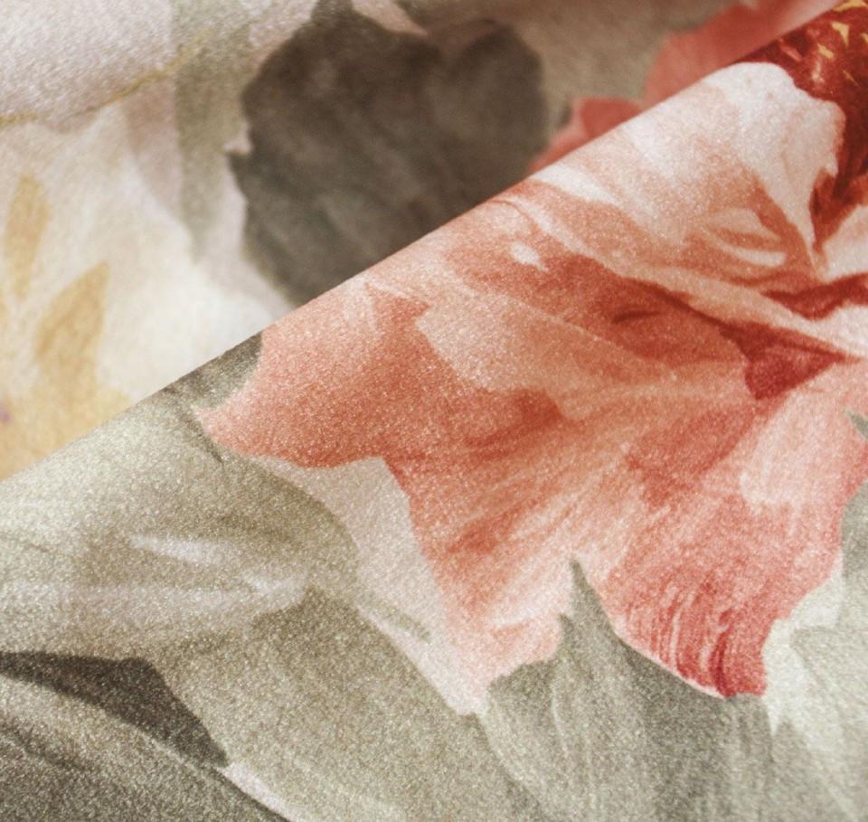 Мебельная ткань велюр цветной GLAMOUR FAVOR термопечать