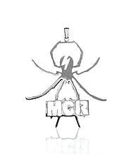 Кулон підвіска з срібла My Chemical Romance ПС-82 Б