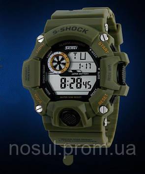 Наручные армейские часы SKMEI S-Shock 1019