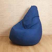 Бескаркасное кресло-груша (кресло-мешок) большое 115х90 см Микро-рогожка, фото 1