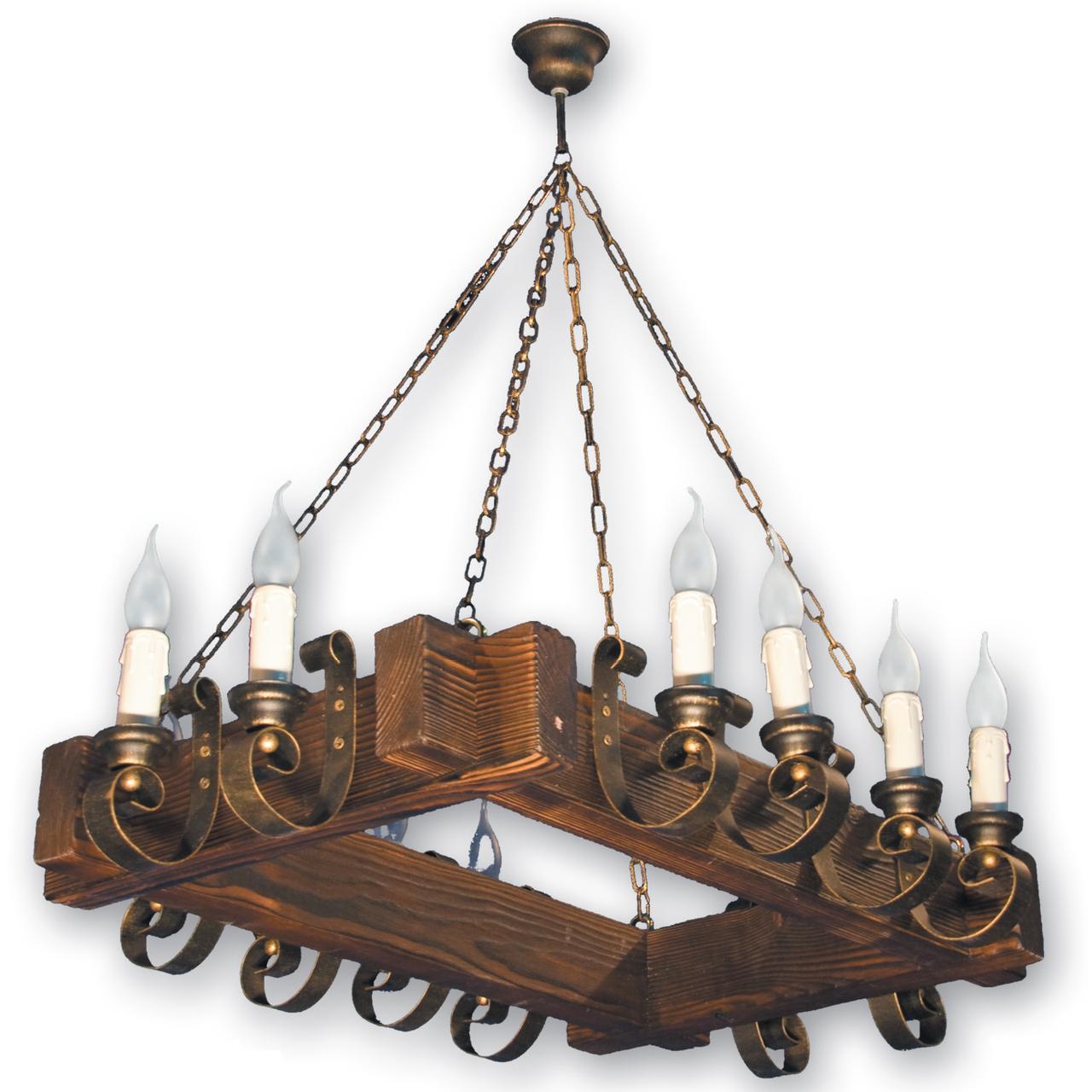 Люстра подвесная 12 свечей Е14 серии Venza 2705212