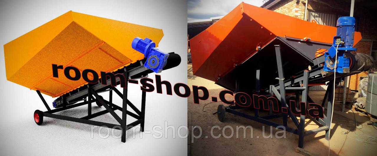 Приемный бункер с транспортером ленточные конвейера в шахте
