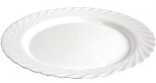 Набор 6 овальных блюд Luminarc Trianon White 35см