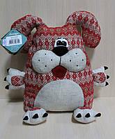 Мягкая игрушка Собака-подушка тм Левеня