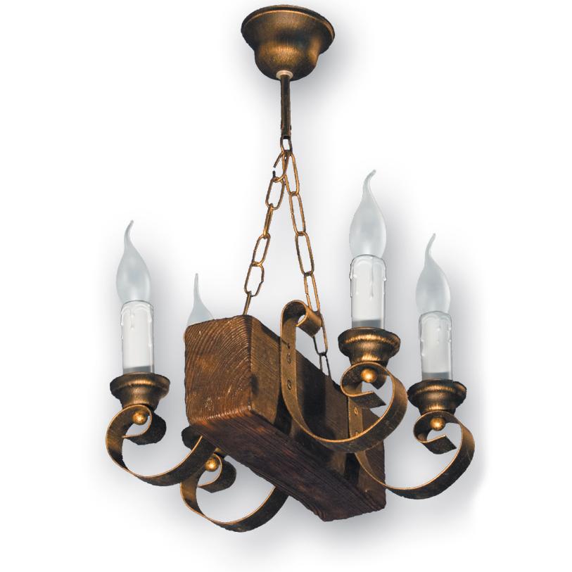 Люстра подвесная 4 свечи Е14 серии Venza 130524