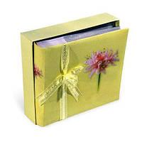 Фотоальбом Fine Yellow 10×15 см. на 200 фото в подарочной упаковке