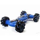 Трюковая машинка перевертыш на радиоуправлении (Синий) с пультом управления, фото 7