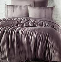 Комплект постільної білизни First Choice De Luxe ранфорс фіолет