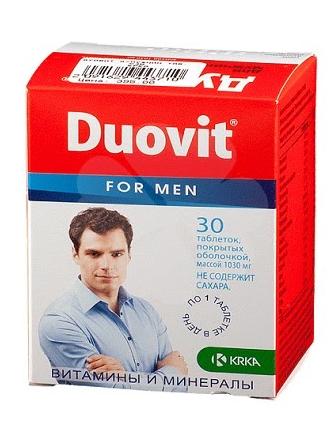 Duovit (Дуовит) - капсулы для потенции