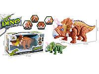 Игрушка динозавр на батарейках свет/звук HC268475