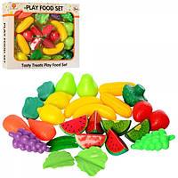 Набор продуктов фрукты, овощи, в кор-ке, 32-27-6 см XG26-2