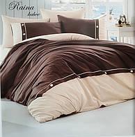 Комплект постельного белья First Choice De Luxe ранфорс беж