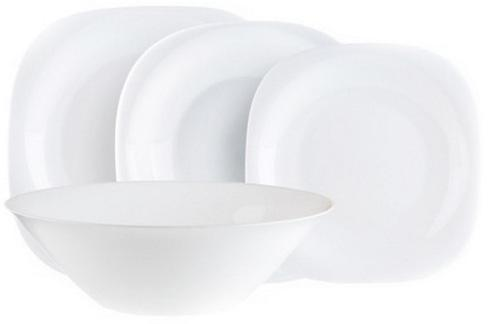 Столовый набор Luminarc Carine White 19 предметов на 6 персон