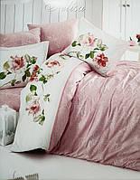 Комплект постельного белья First Choice De Luxe ранфорс Пудра