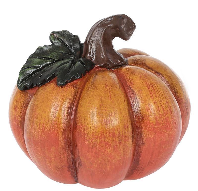 Декоративная статуэтка «Тыква» 12х12х10.5см, оранжево-коричневый