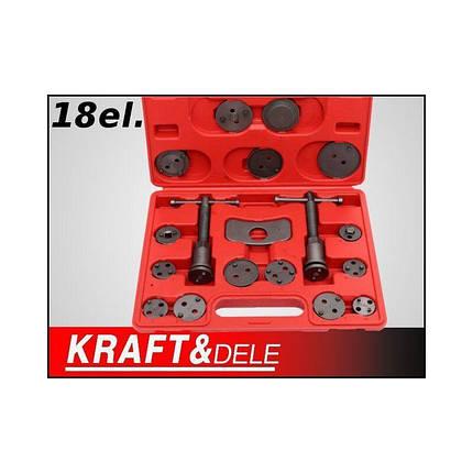 Комплект для замены тормозных колодок 18el. Kraft Dele KD10215, фото 2