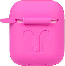 Кейс TOTO 1st Generation Thick Cover Case AirPods Rose Red #I/S, фото 2