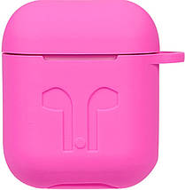 Кейс TOTO 1st Generation Thick Cover Case AirPods Rose Red #I/S, фото 3