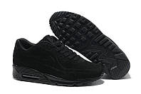 Кроссовки мужские Nike Air Max 90 VT Tweed (в стиле найк аир макс 90) черные