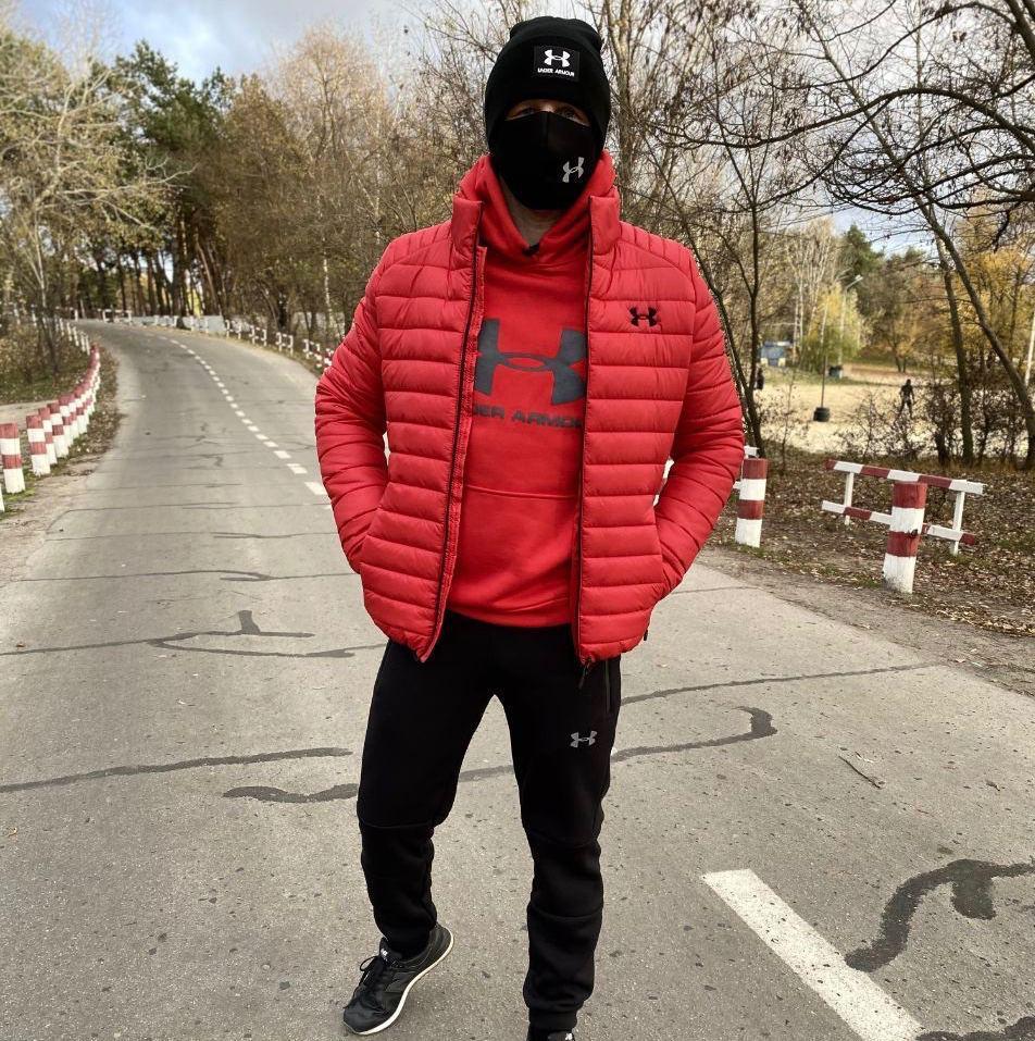 Мужская зимняя куртка Exposure Red