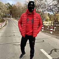 Мужская зимняя куртка Exposure Red, фото 1