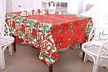Скатертина Новорічна 150-220 «Christmas tree», фото 3